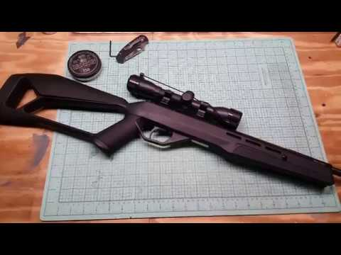 Crosman Fire NP/F4 Unboxing and Review  Shooting test