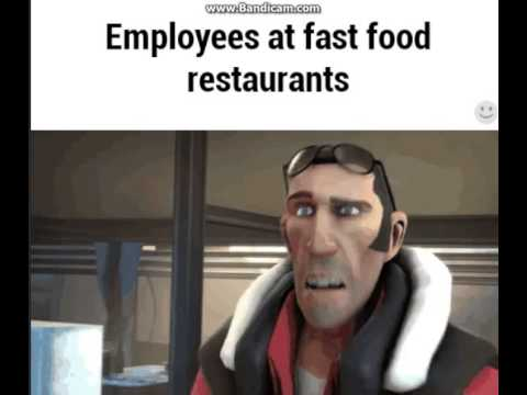 Fast Food Employees Be Like Youtube