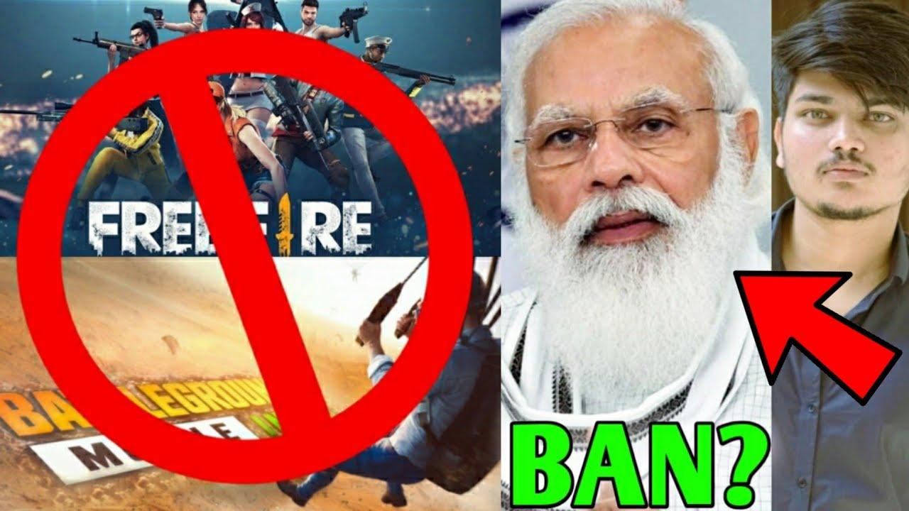 FREE FIRE & BGMI BAN ?! - Letter sent to PM Narendra Modi   Twosidegamer Angry on Spammers, 2B Gamer
