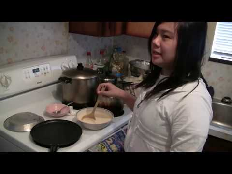 Simple French Crepe Recipe ( How To Make Crepes)