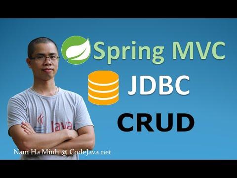 java-spring-mvc-and-jdbc-crud-tutorial-(web-app-using-eclipse,-tomcat,-mysql-and-junit)