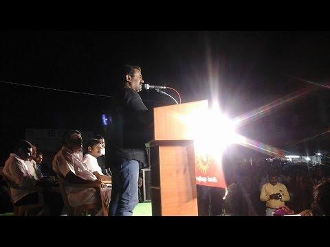 ஓமலூர் தேர்தல் பரப்புரை பொதுக்கூட்டம் - சீமான் எழுச்சியுரை