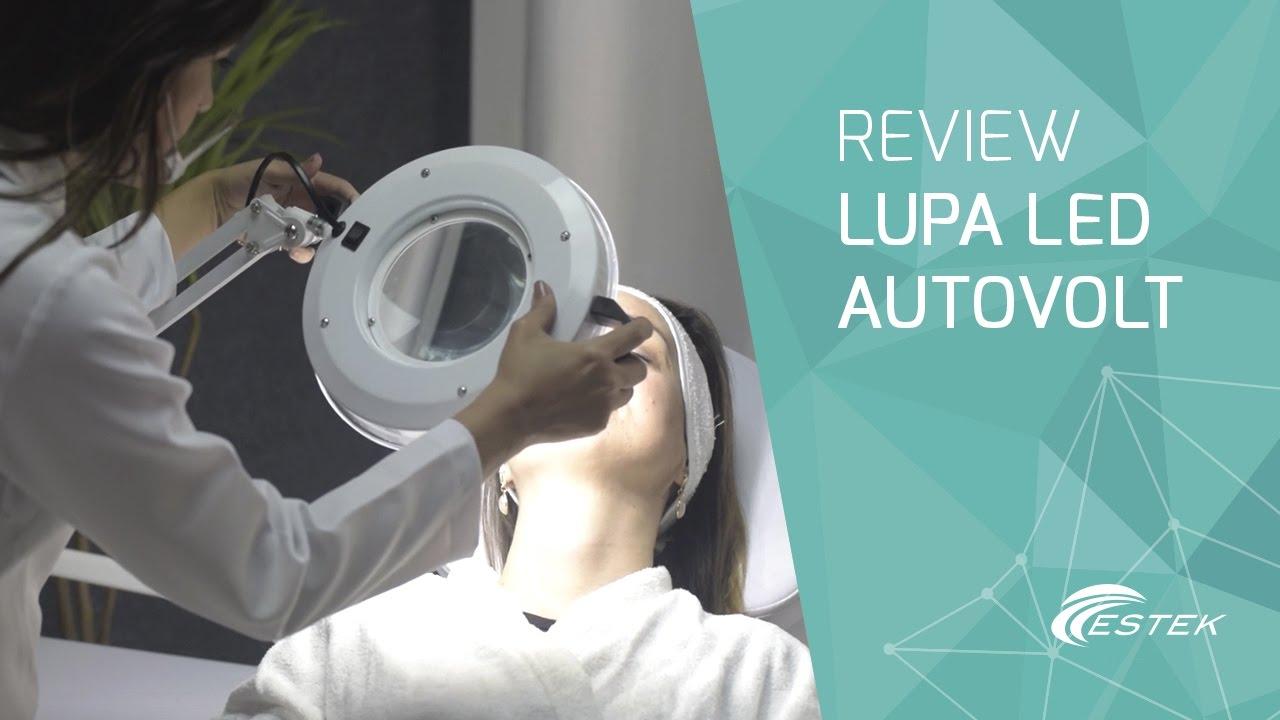 Lupa LED Autovolt   Estek Tecnologia em Produtos - YouTube a0f32ef2d4
