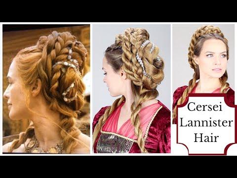 Cersei Lannister Purple Wedding Hair