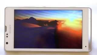 Обзор Sony Xperia SP M35c(Короткий видеообзор одного из лучших двухстандартных смартфонов года, работающих одновременно в сетях..., 2013-08-25T20:43:00.000Z)