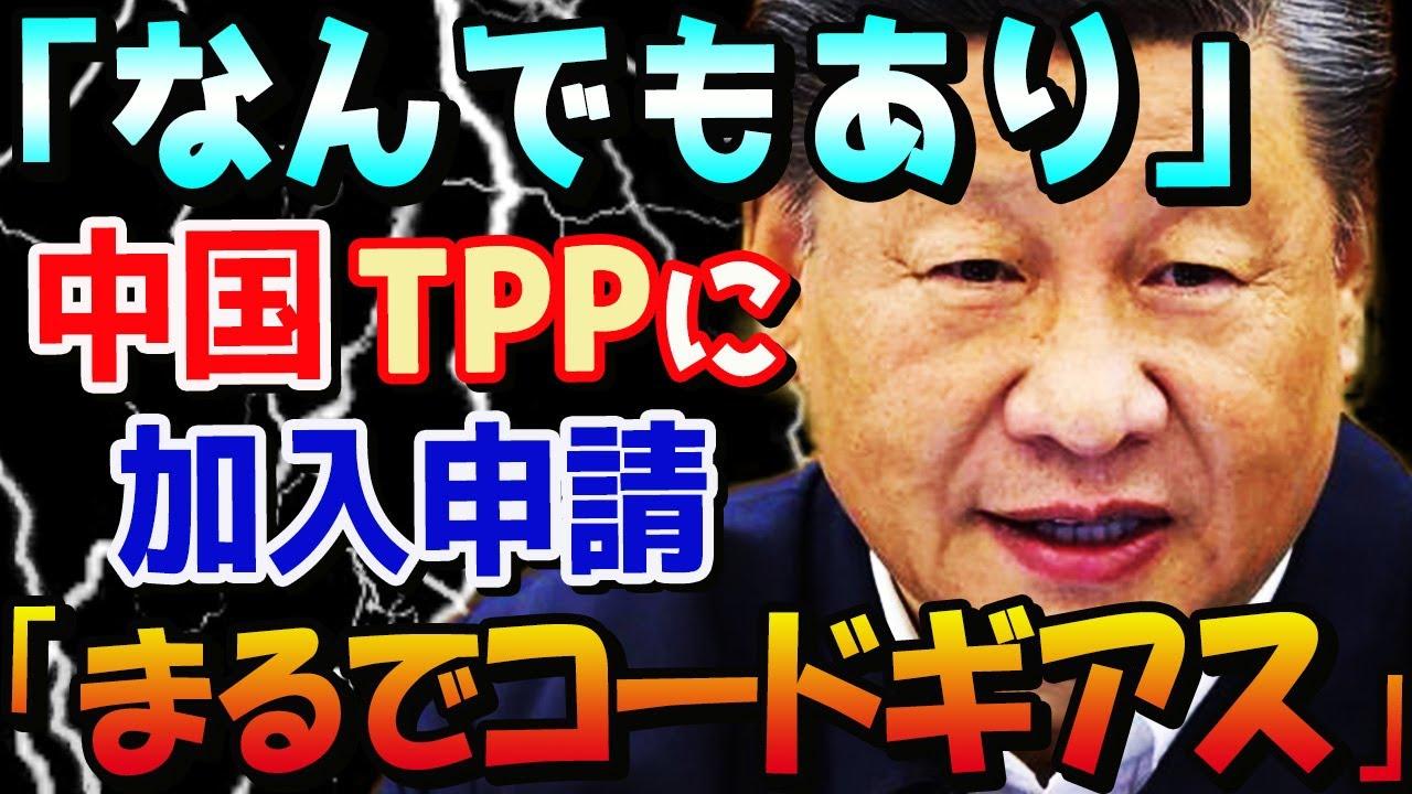 【海外の反応】中国がTPPに加入申請「まるでコードギアスのあのシーン」