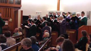 Holy Manna (arr. Joel Raney) - Sanctuary Choir of First Congregational United Church of Christ
