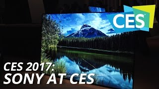 CES 2017: Sony at CES