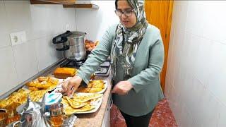 Merienda marroquí casera OS VAIS A QUEDAR CON ALUCINADOS CON LOS SABORES🙈❤