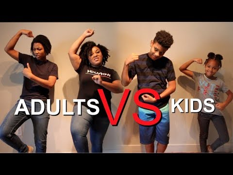 Kids vs Adults DANCE CHALLENGE  🔥🔥🔥🔥