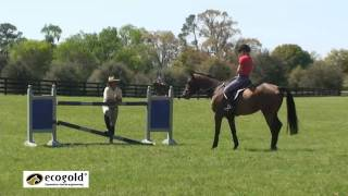 2 Canadian Eventing Team Training Stephanie Rhodes-Bosch and Kyle Carter