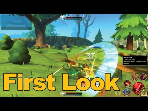 Adventure Quest 3D Gameplay First Look – MMOs.com