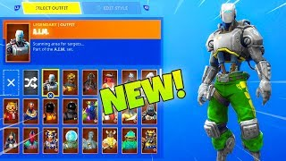 The NEW! CUSTOMIZABLE A.I.M SKIN COLOR! (Week 10 REWARDS) Fortnite Battle Royale