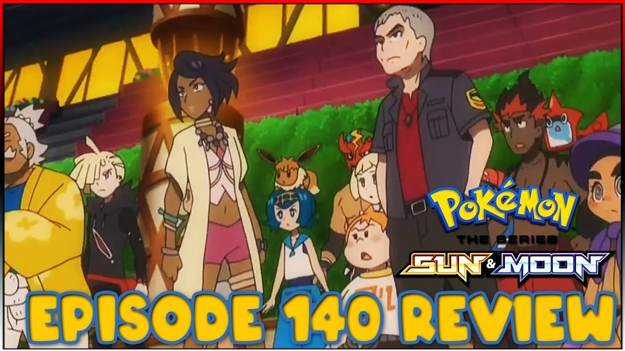 Guzzlord Appears Pokemon Sun And Moon Anime Episode 140 Review Youtube