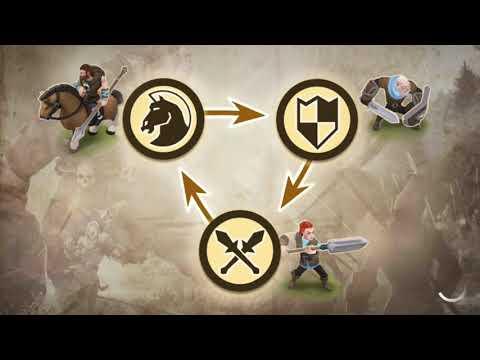 Warlords of Aternum Sıra Tabanlı Rol Oyunu / Android Mobil Oyun