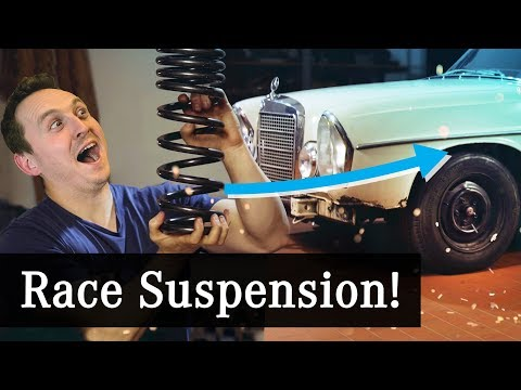Fitting RACE Suspension To My 50-Year-Old Rally Car