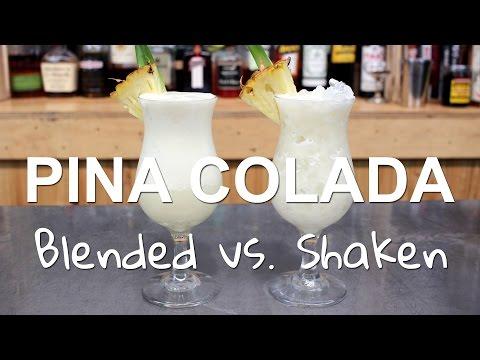 Pina Colada Cocktail Recipes: 2 Ways, Blended vs. Shaken!