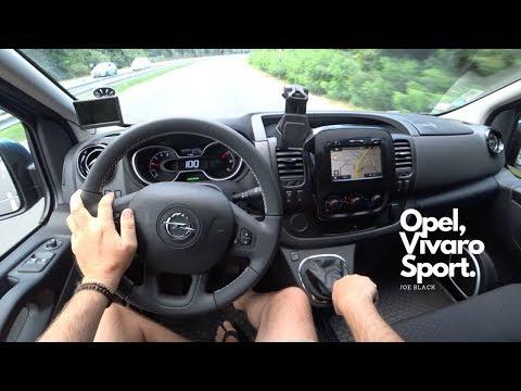Opel Vivaro 1.6 Bi-Turbo CDTi 145 HP L1H1 Sport Van 4K | POV Test Drive #082 Joe Black