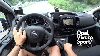Opel Vivaro 1.6 Bi-Turbo CDTi 145 HP L1H1 Sport Van 4K | POV Test Drive #082 Joe Black