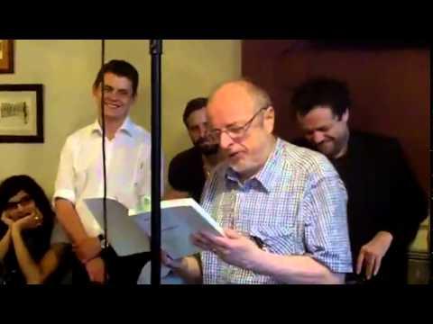 Tom Leonard reading London May 2012
