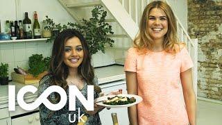 Halloumi & Strawberry Summer Salad | Madeleine Shaw And Kaushal Beauty