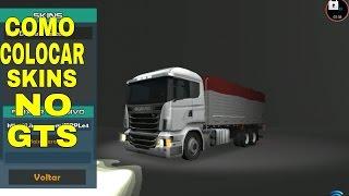 Como colocar skins no grand truck simulator