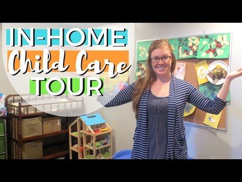 In-Home Child Care Tour | UPDATED: ONE YEAR LATER