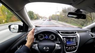 Nissan Murano - первые метры за рулем!