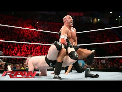 Cesaro Vs. Sheamus (& Wayne Rooney Vs. Barrett): Raw – 9. November 2015