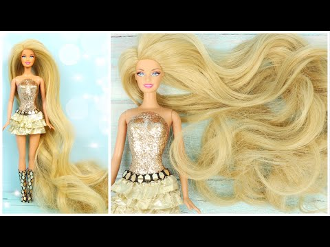 the-longest-hair-barbie-in-the-world---barbie-hairstyles,-clothes-and-shoes-for-dolls
