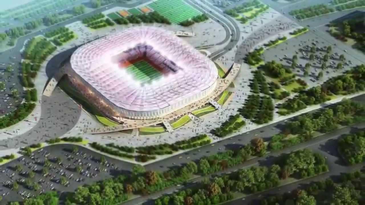 Les stades de la coupe du monde 2018 en russie youtube - Stade coupe du monde 2022 ...