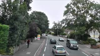 (HD) Full route visual - Route 405 | Redhill - West Croydon | 947 - YN07EXF.