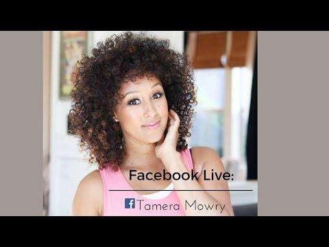 Tamera Mowry    newest Facebook Live!