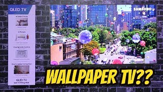 Samsung Wallpaper TV | 40W Concert TV in Mid Range | Something new
