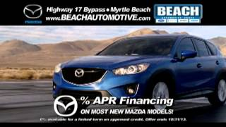 Beach Automotive October 2013 Mazda Commercial Myrtle Beach thumbnail