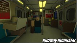 Roblox Subway Simulator Glass DLC review.