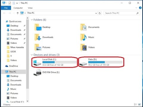 Windows 10 - How Manage Logical Drives, Volumes, Partition Hard Disk