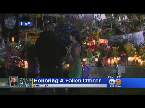 Whittier Community Continues to Honor Fallen Officer Keith Boyer