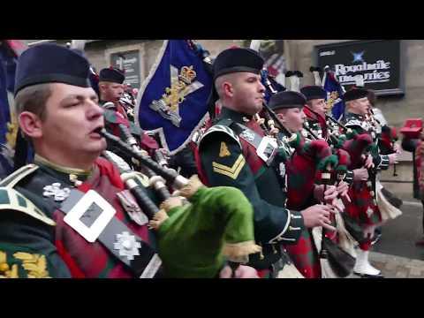 Edinburgh - Remembrance Parade 2016 [4K/UHD]