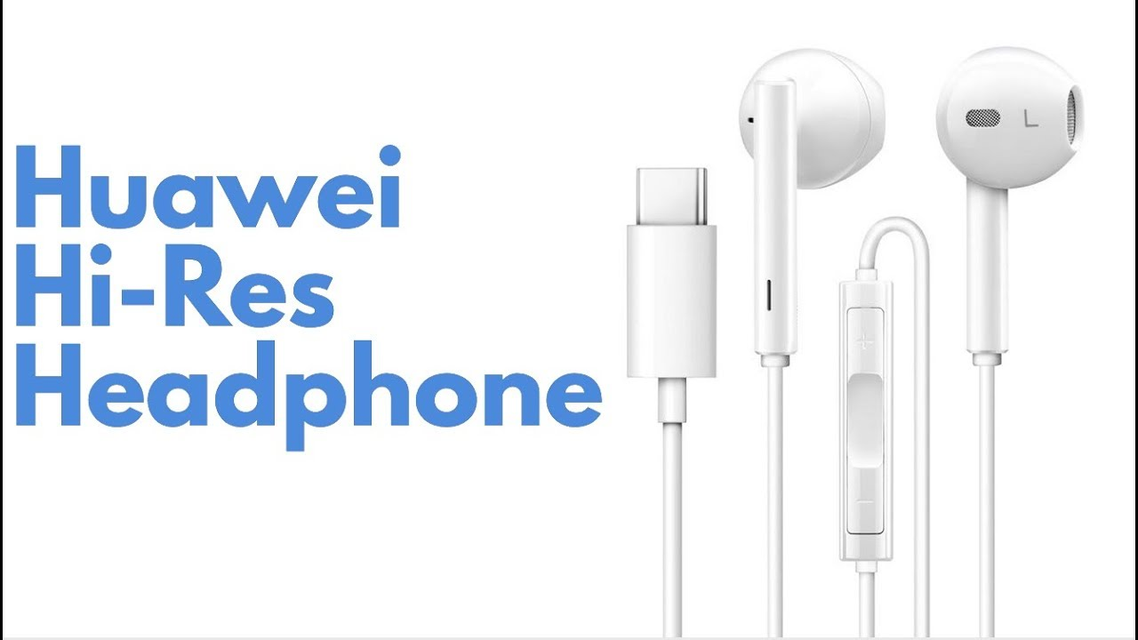 Huawei Hi Res Usb Type C Earphone Wired Control Headphone For 31 To 35mm Audio Jack Converter White Mate 10 Samsung S8 Xiaomi 6 5