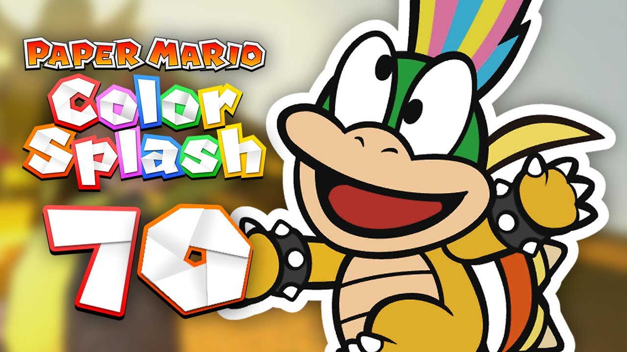 Paper Mario: Color Splash - Episode 70 - Lemmy and the Big Green ...