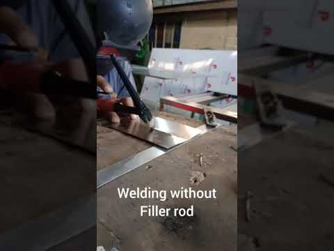 Tig welding with filller and without filler