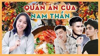 Tour quán ăn các Nam Thần: chú Quang Đại, Huy Trần NALA, Quang Hùng | Châu Giang nè!