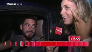 La reacción de Nico Occhiato al enterarse de que apareció el video con Flor Vigna