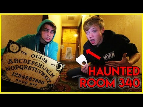 Ouija Board at haunted Queen Mary (scary)