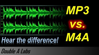 M4A vs MP3 Audio Quality Comparison