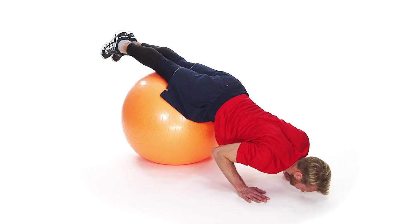 träna med gymboll