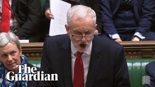 Jeremy Corbyn accuses May of 'ducking scrutiny' on Brexit thumbnail