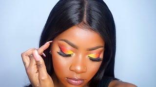 Sunset Eye Makeup Tutorial 🌅