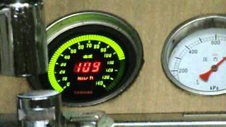 最高速度オーバー?快速運用時の阪急3300系の速度計(最後の方途切れます)